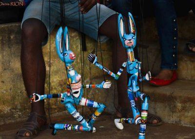 Atelier de marionnettes (Mali)